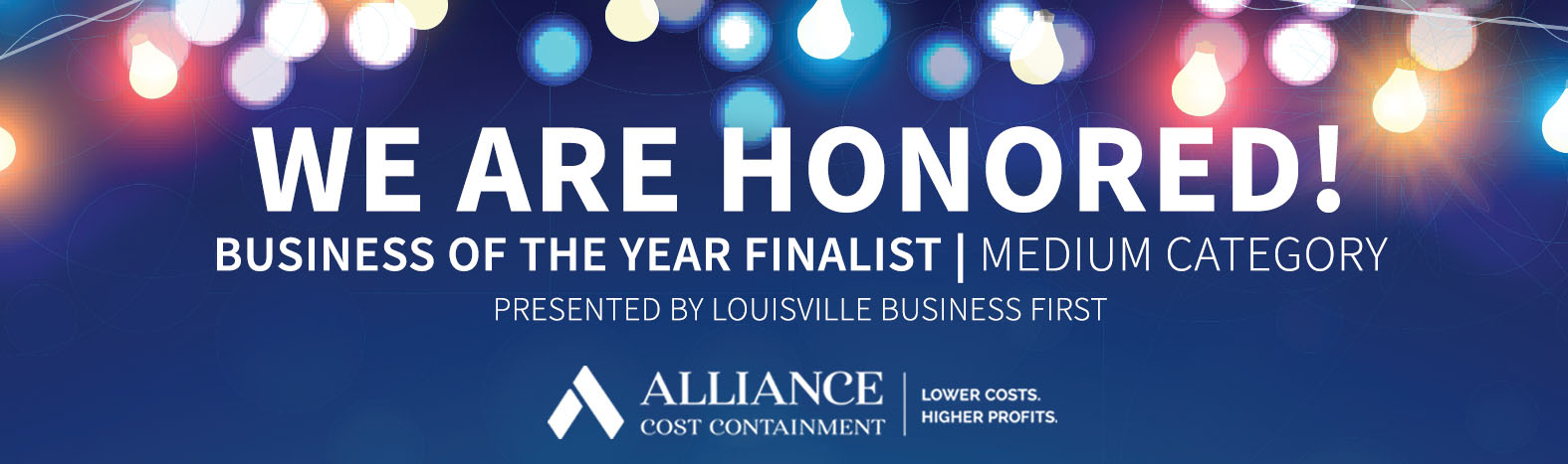 Business of the Year Alliance Cost Containment Louisville