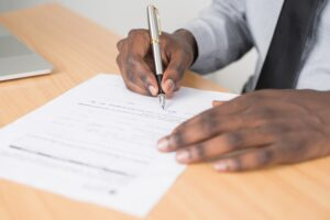 Signing a Contract to reduce expense costs