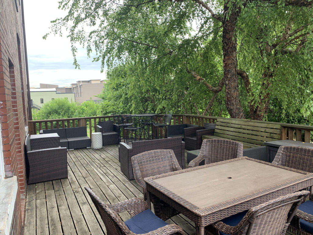 Outdoor space at the new ACC Cost Reduction Headquarter