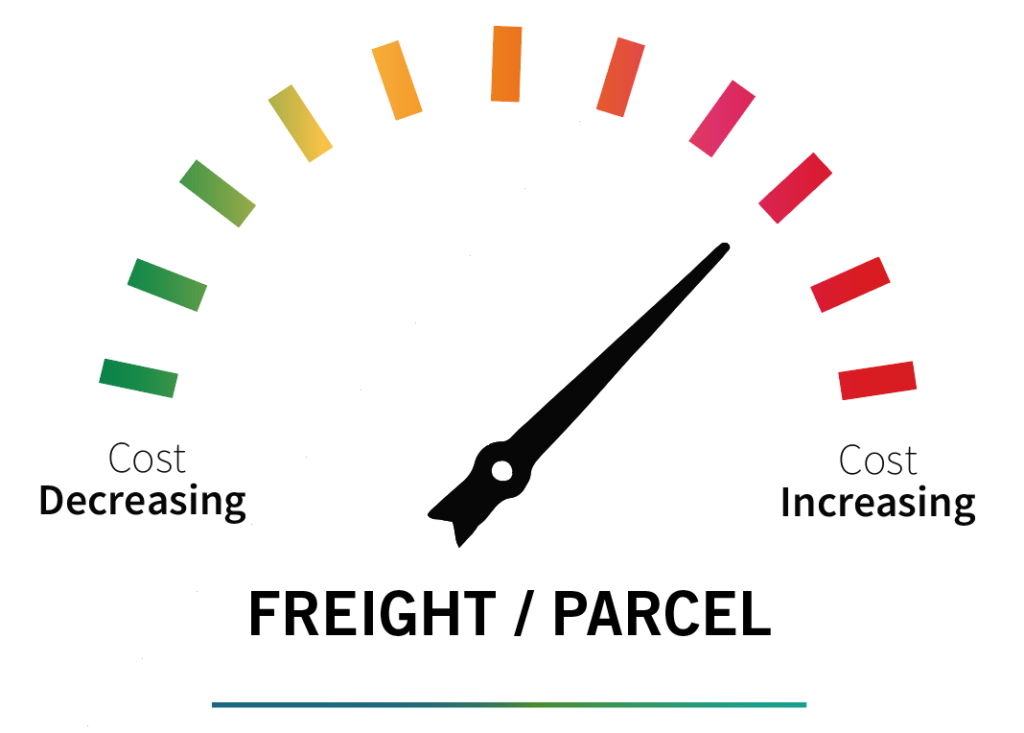 Freight and Parcel prices increasing